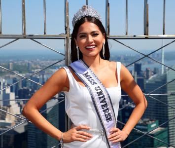 Miss Universo, Andrea Meza en The Empire State