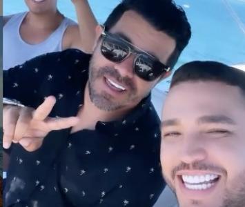 Piter Albeiro y Jessi Uribe en Miami