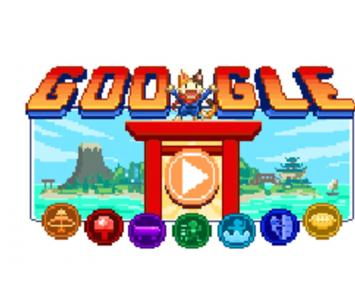 Doodle de Google- Juegos Olímpicos Tokio 2020