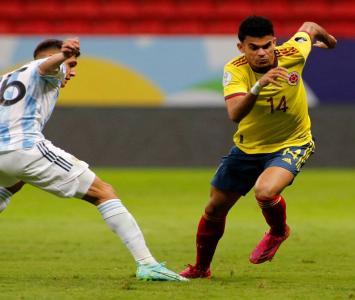 Luis Díaz - Colombia Vs Argentina