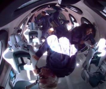 Viaje al espacio de Richard Branson