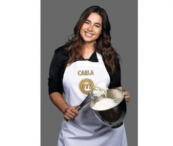 Carla Giraldo en Masterchef Celebrity