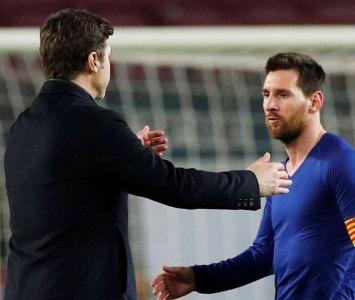 Pochettino y Messi