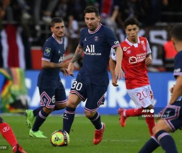 Lionel Messi, debut PSG