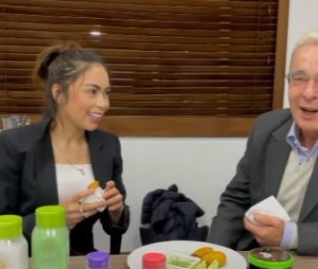 Reunión de 'Epa Colombia' y Álvaro Uribe
