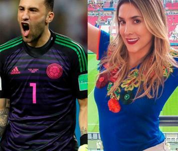 Daniela y David Ospina se apoyan