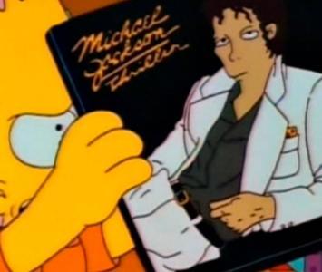 Michael Jackson en Los Simpsons
