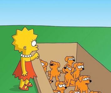 Lisa Simpson ama al medio ambiente