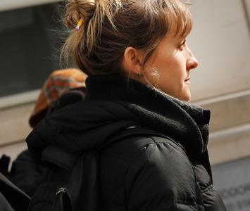 Allison Mack era actriz de la serie Smallville
