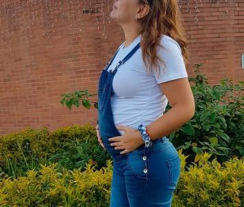 Ana Victoria Beltrán embarazada