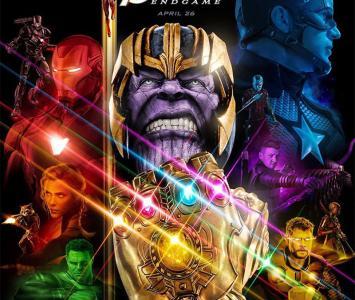 Póster de Avengers End Game