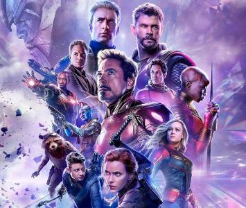 Afiche Avengers End Game