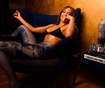 Jennifer Lopez sigue luciendo un cuerpazo