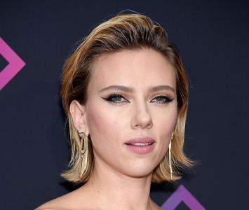 Scarlett Johansson, es la viuda negra en Avengers