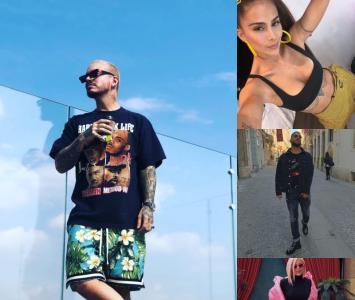 Artistas en los premios Heat 2019
