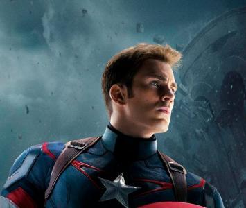 Chris Evans interpretó al Capitán América en las películas de Marvel