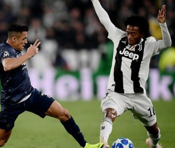 Juan Guillermo Cuadrado en la Juventus