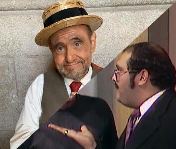 Edgar Vivar como el señor Barriga
