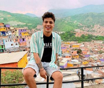 El reconocido youtuber colombiano saltó a la fama en la nueva cinta.