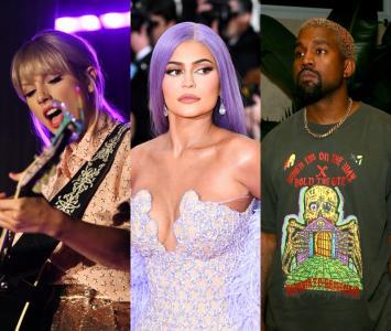 Taylor Swift,KylieJenner yKanyeWest celebridades con ingresos millonarios