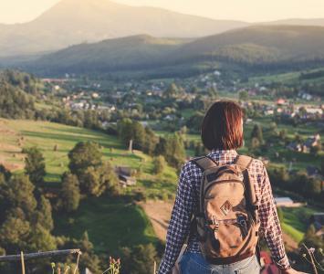 Mujer que viaja sola