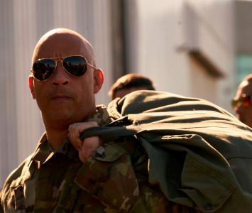 Vin Diesel como Dominic Toretto