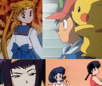 Este es un pequeño listado de las producciones animadas más recordadas de la infancia.