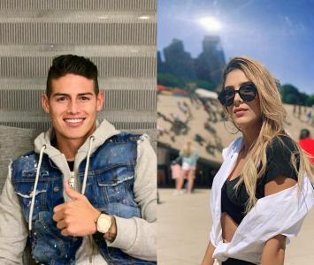 James Rodríguez y su exesposa Daniela Ospina