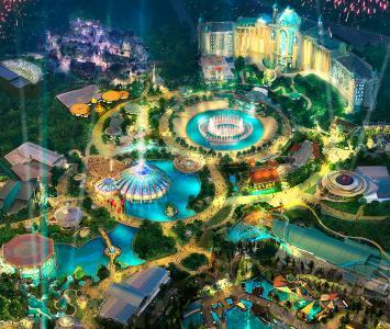 Parque Epic Universe en Orlando, Florida