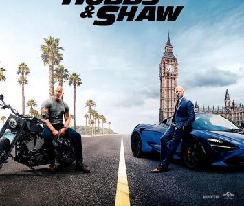 Hobbs & Shaw son los personajes de la nueva película de rápidos y furiosos
