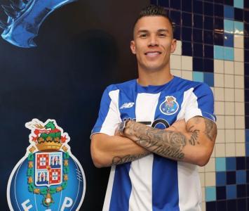 Matues Uribe ahora juega con el Porto de Portugal
