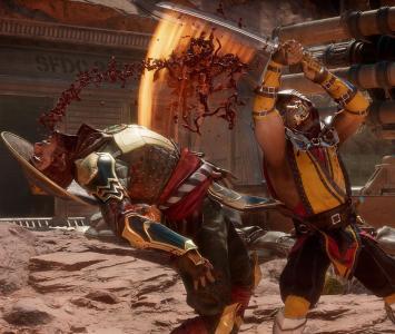 Scorpion enfrenta a Raiden
