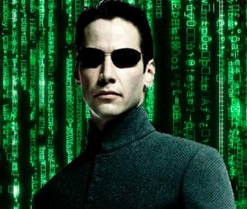 Neo es el protagonista de Matrix