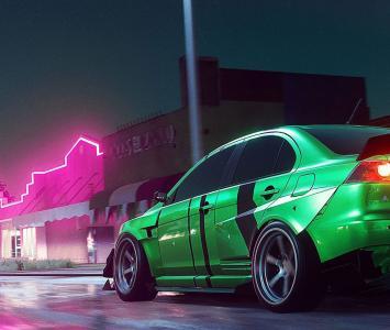 Carrera en Need For Speed Heat