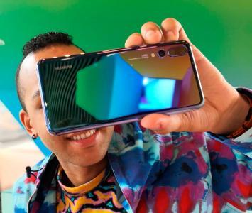 Usuario de teléfono Huawei
