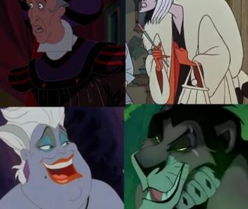 Villanos del mundo mágico de Disney