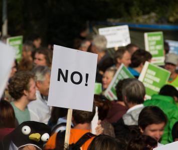 Protestas en El Cartel