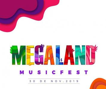 Cartel de Megaland 2019