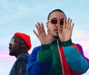 J Balvin y The Black Eyed Peas