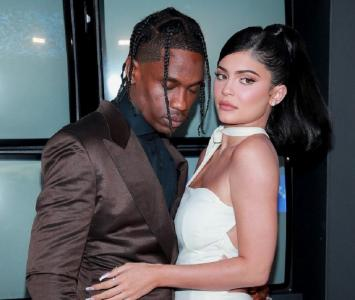 Kylie Jenner y Travis Scott