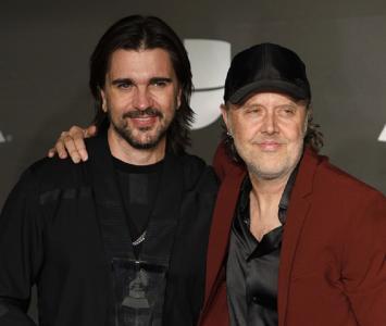 Juanes y Lars Ulrich