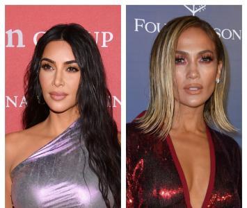 Kim Kardashian y Jennifer Lopez
