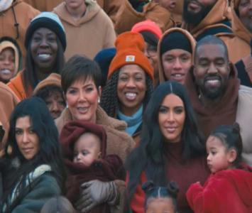 Los Kardashian en el nuevo video de Kanye West