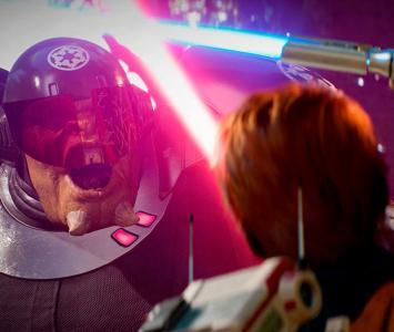 Combate entre Jedi e inquisidor del Imperio