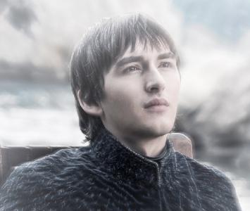 Isaac Hempstead-Wright interpreta a 'Bran Stark' en Game of Thrones'