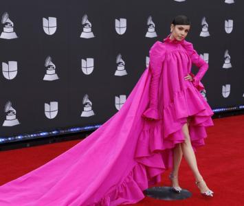 Looks extravagantes en los Grammy Latinos 2019