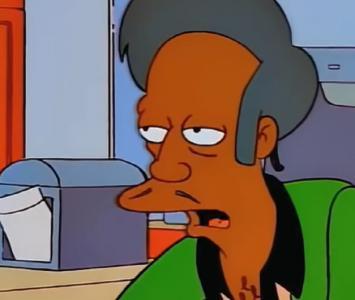 Apu, Los Simpson