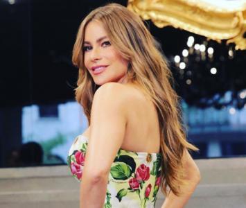 Sofía Vergara en los premios Globo de Oro