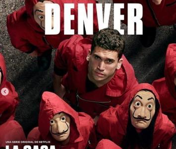Denver en La Ccasa de papel