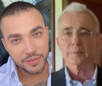 Jessi Uribe y Álvaro Uribe